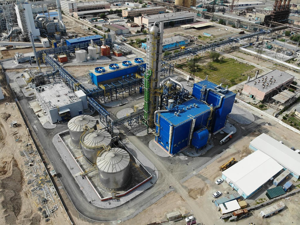 Navoyazot's nitric acid plant overview