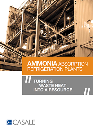 Ammonia Absorption Refrigeration Plants