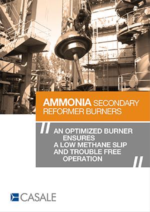 Ammonia Secondary Reformer Burner