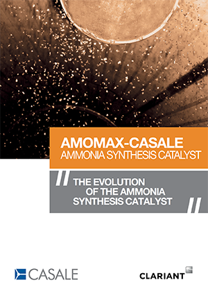 Amomax-Casale Ammonia Synthesis Catalyst