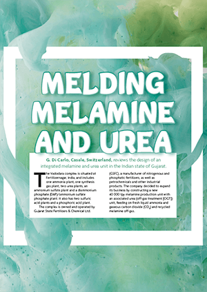 Melding Melamine and Urea