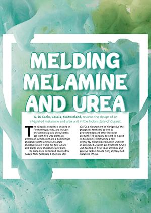 Melding Melamine and Urea