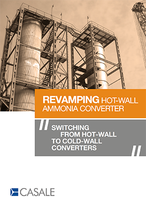 Revamping Hot Wall Ammonia Converter